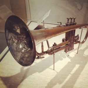 Louis Armstrong's first coronet