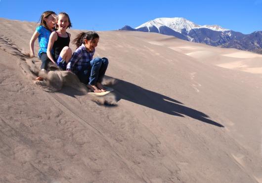 sandsleddingNPS