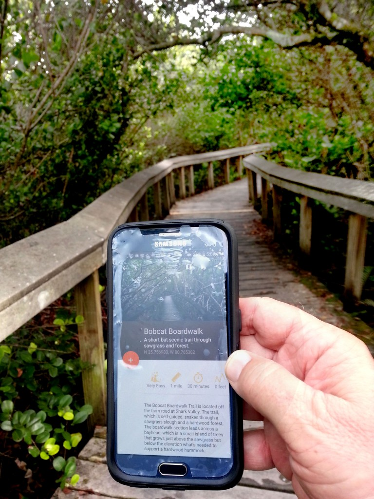Everglades National Park app by Chimani | Photo: Robert Caston/The Parks and Facilities Catalog