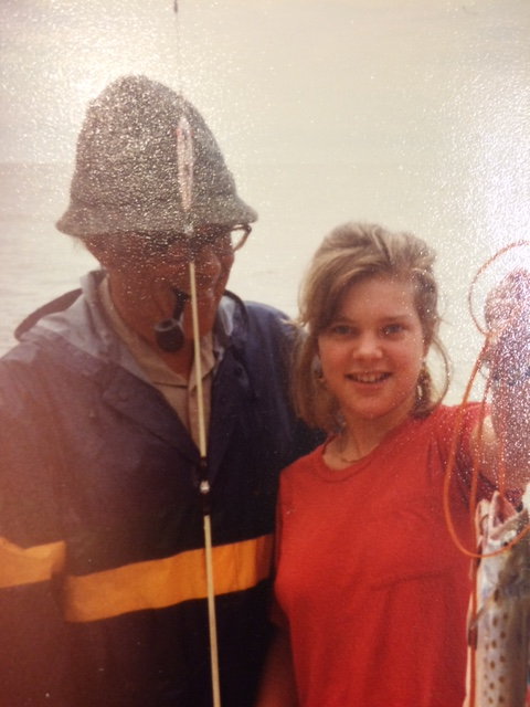Mandy Ward Davis and Mike Ward 1986